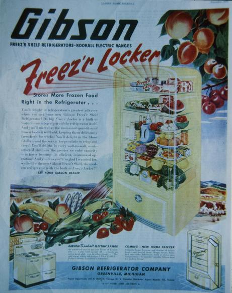 Gibson Refrigerator Ad