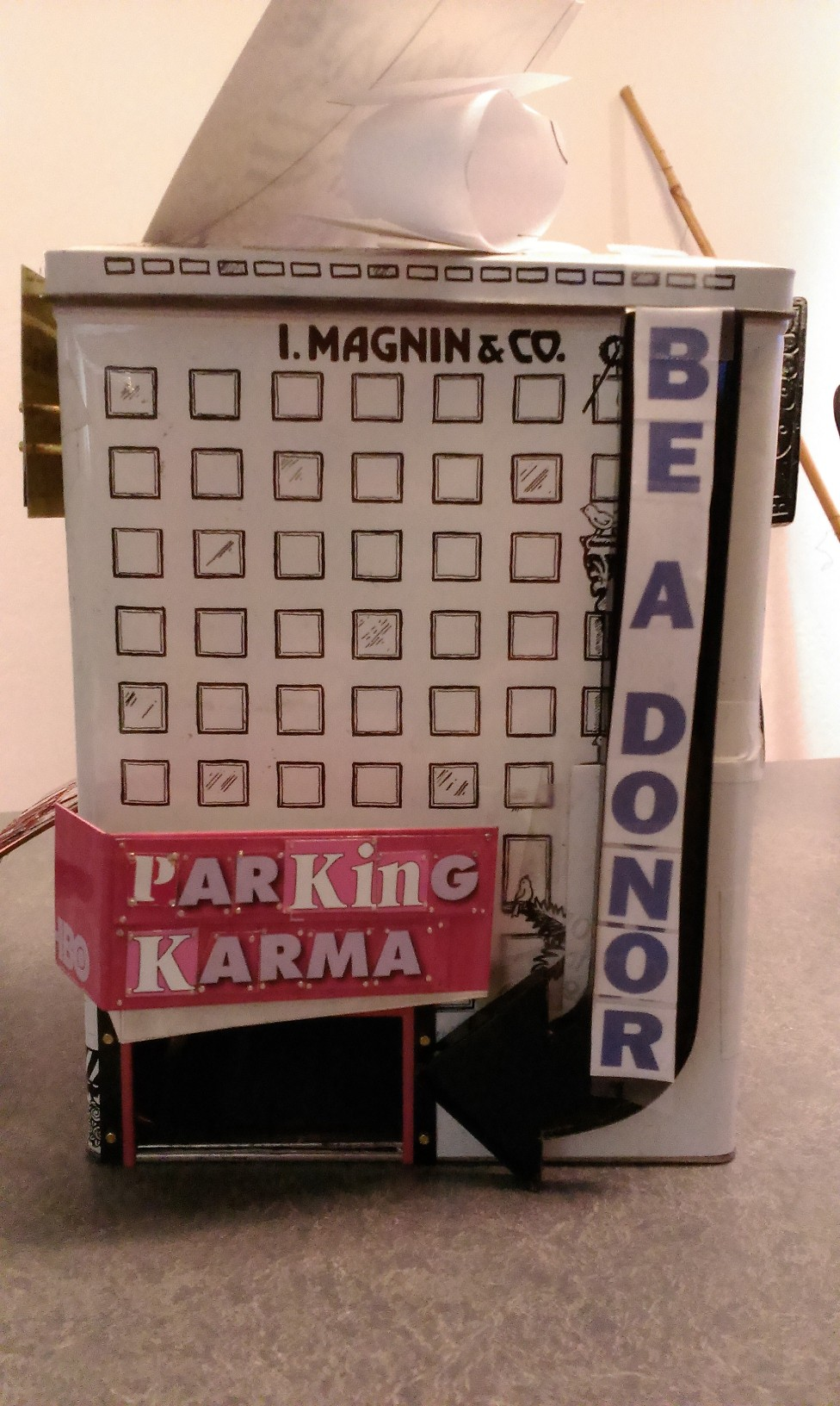 Parking Karma in progress with be a donor in paper