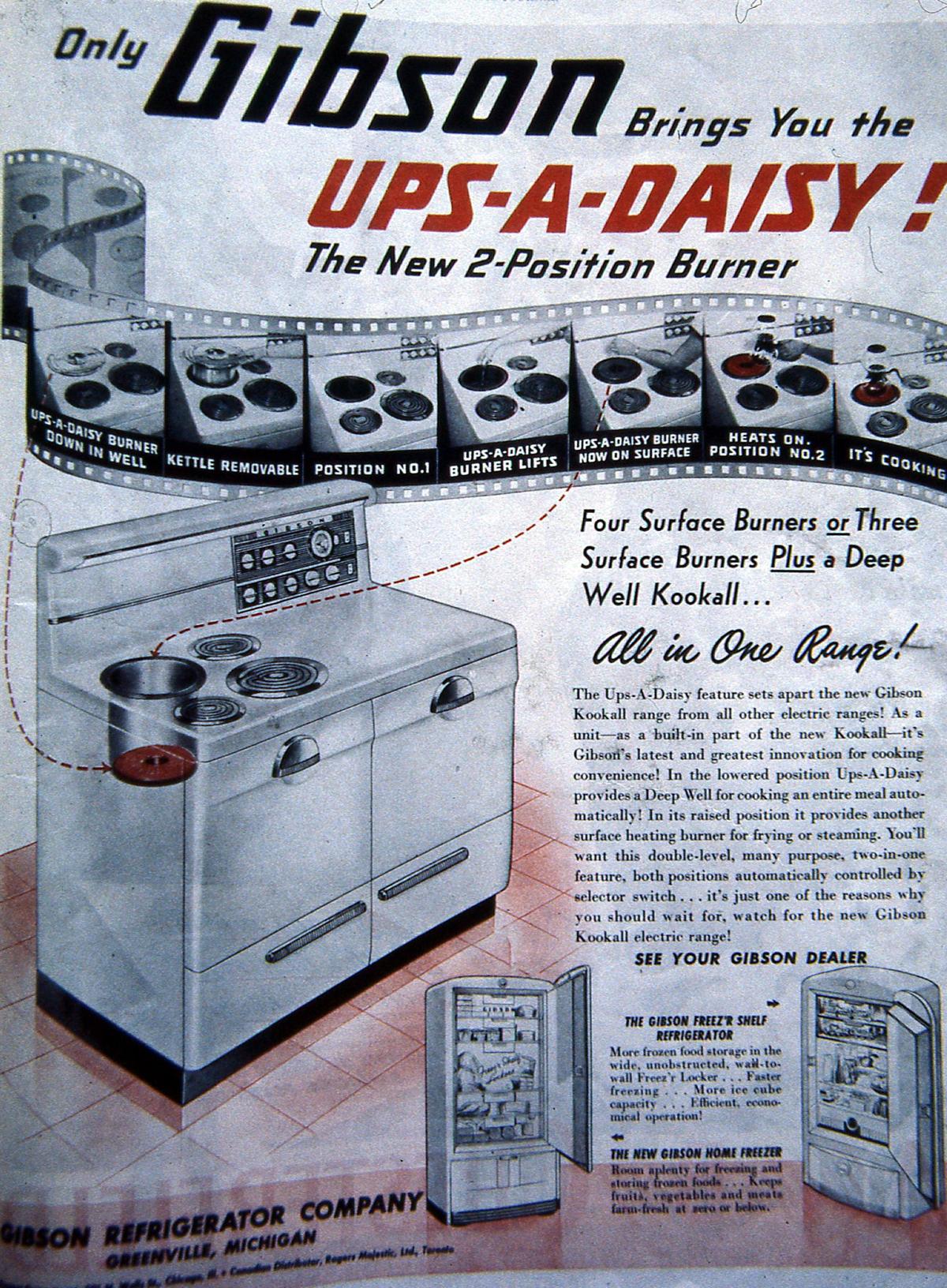 Gibson vintage stove