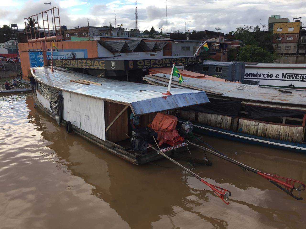 Our 2nd boat - for supplies
