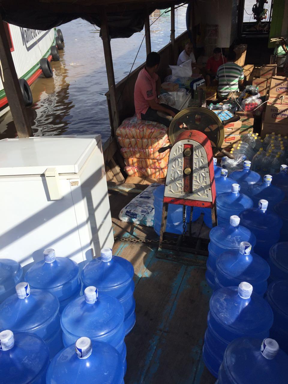 Lots of fresh water