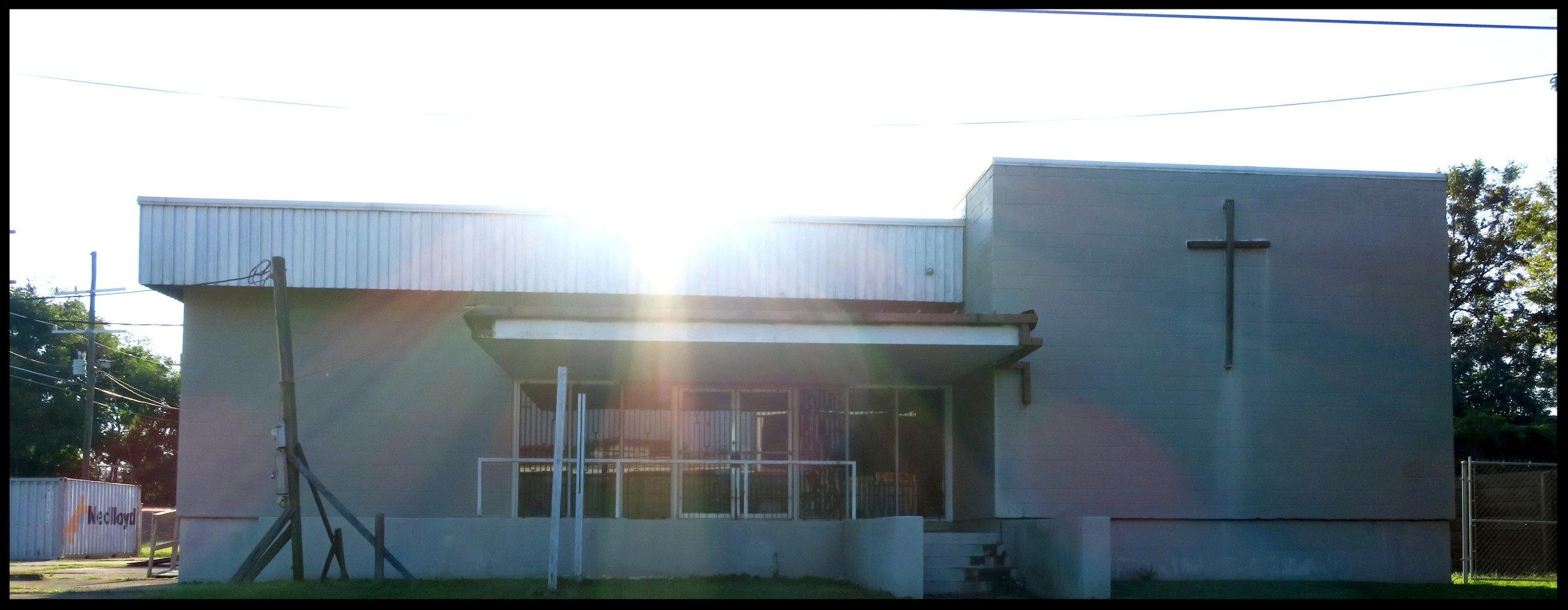 The HEM building on Marais St., front