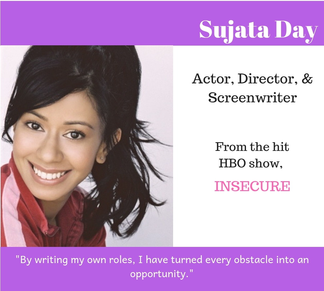 #browngirlwrites Ananya Vahal interviews Insecure acctress Sujata Day.