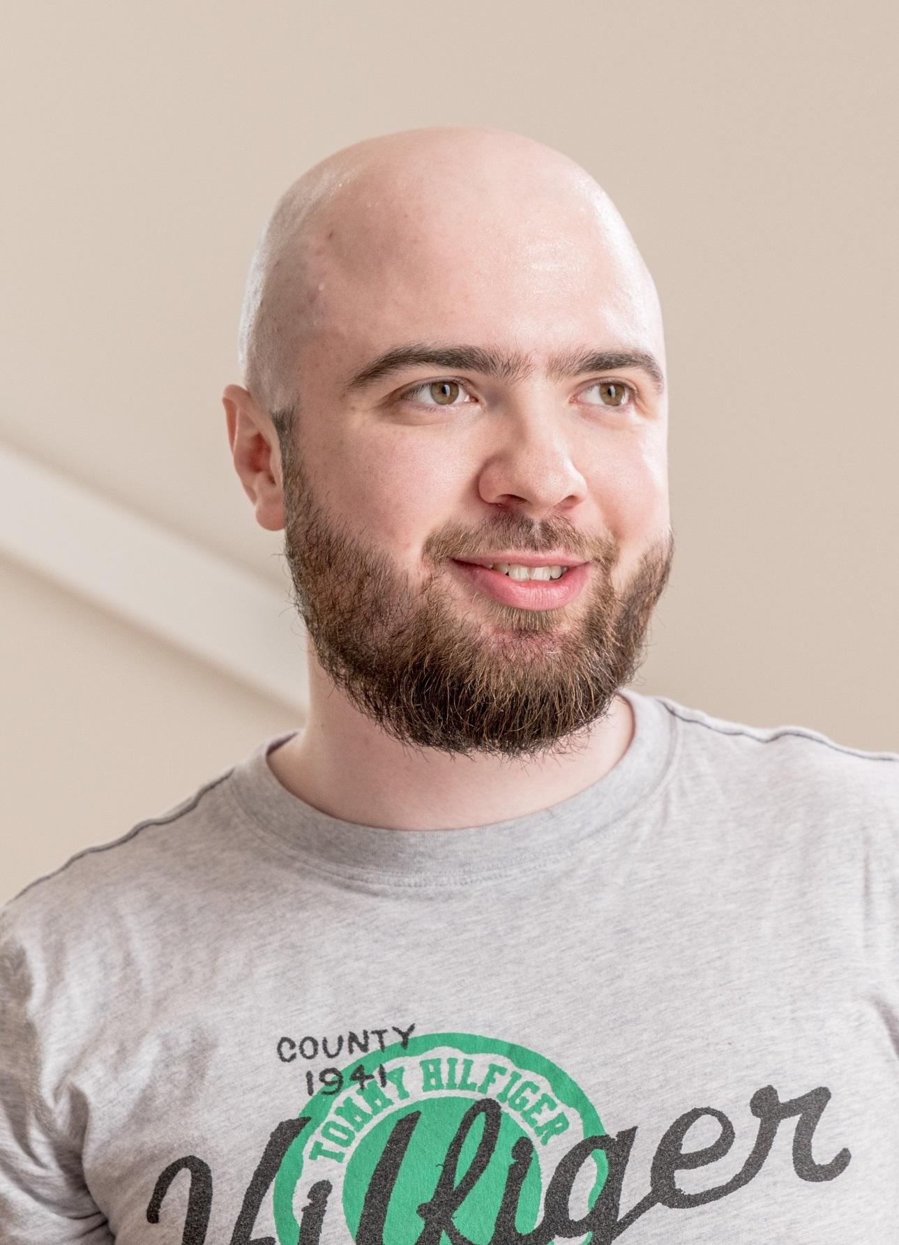 Rustam Tsagolov, Monolith's team coach. Photo: Skoltech.