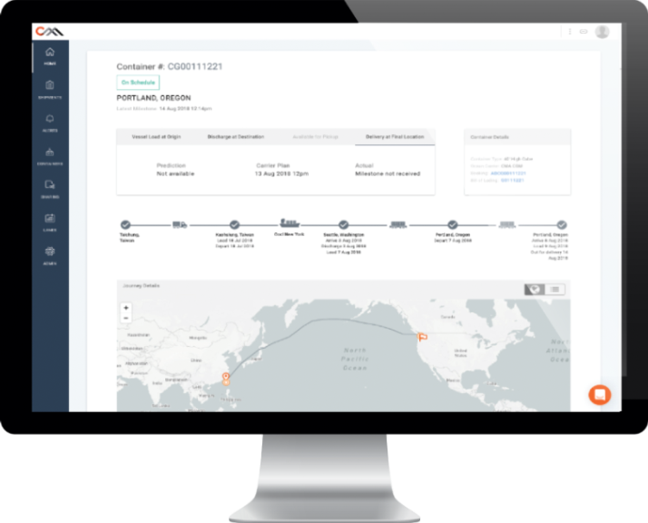 Predictive Transport Visibility - Accurately track inventory in transit with confidence in its arrival. Proactively managing exceptions & customer expectations.