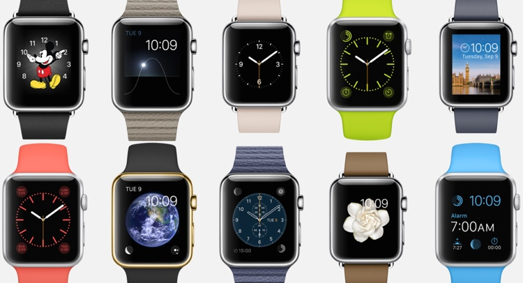 The number of Apple Watch variations available clearly favours personalisation over simplicity.