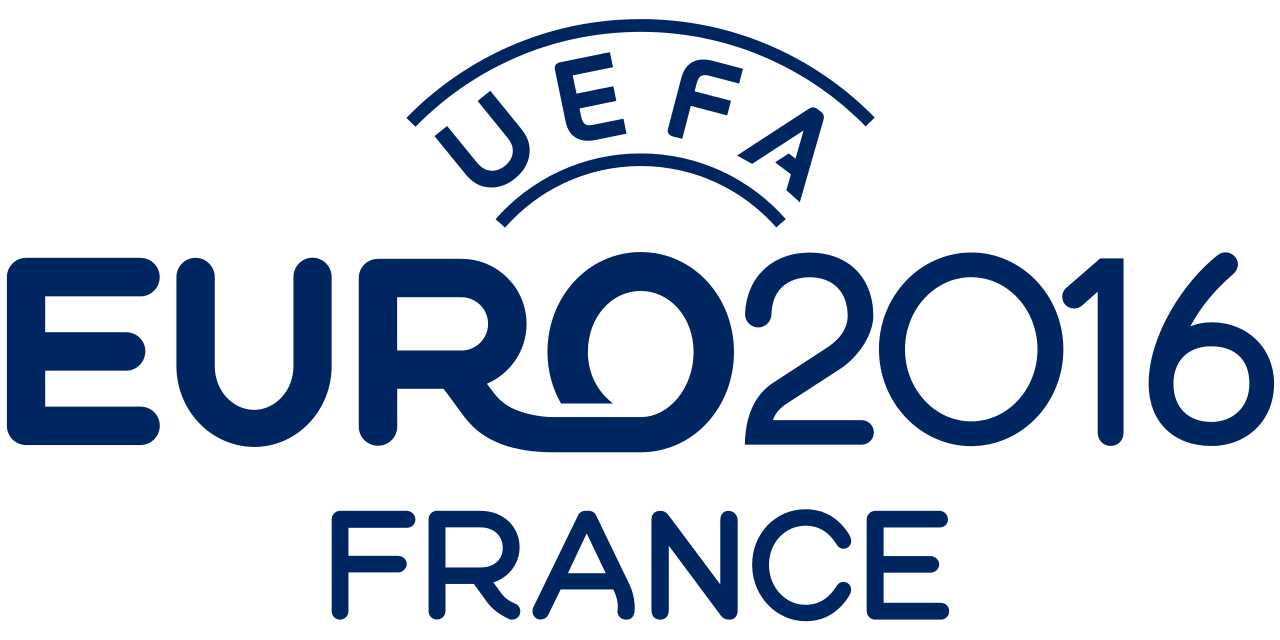 One of many variations of the official UEFA Euro 2016 logo.