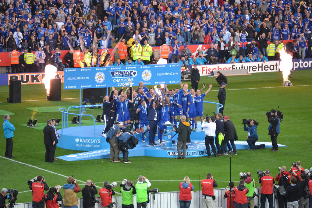 The final champions of the Barclays Premier League era,  Leicester City F.  C.