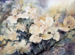"""Dogwoods"" - sold"