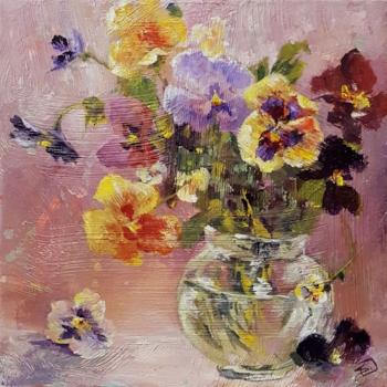 """""""Bowl of Beauty"""" Acrylic 12 X 12"""""""