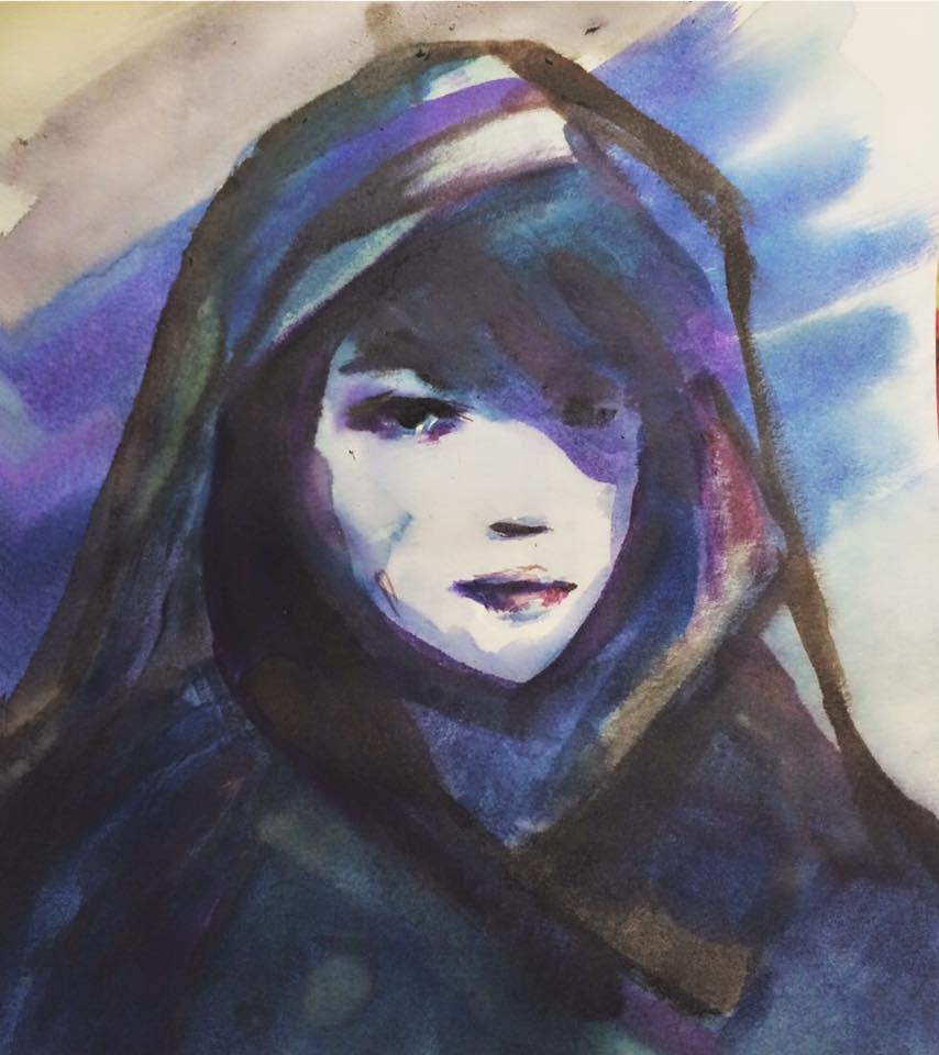 Scheherazade (watercolor) - Julie Peng