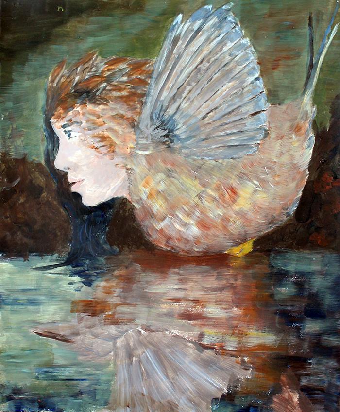 flight (acrylic) - Ayame Whitfield