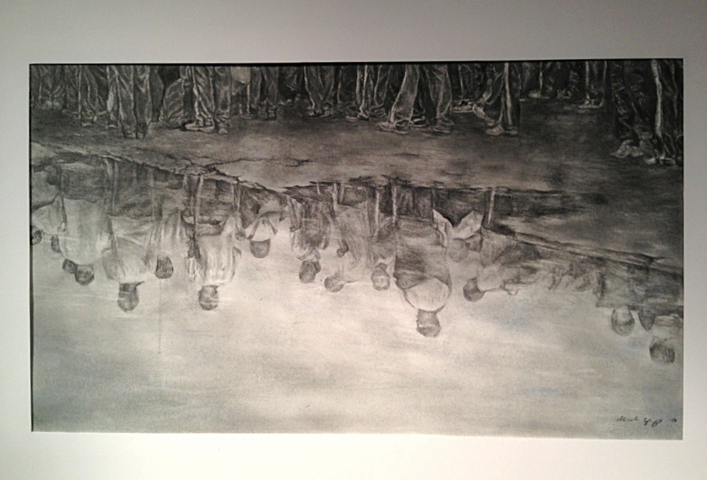 Migration (graphite) - Michelle Zhang