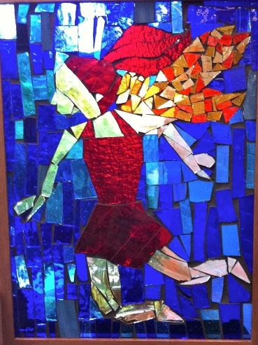 Tatiana (stained glass) - Cassandra Kane