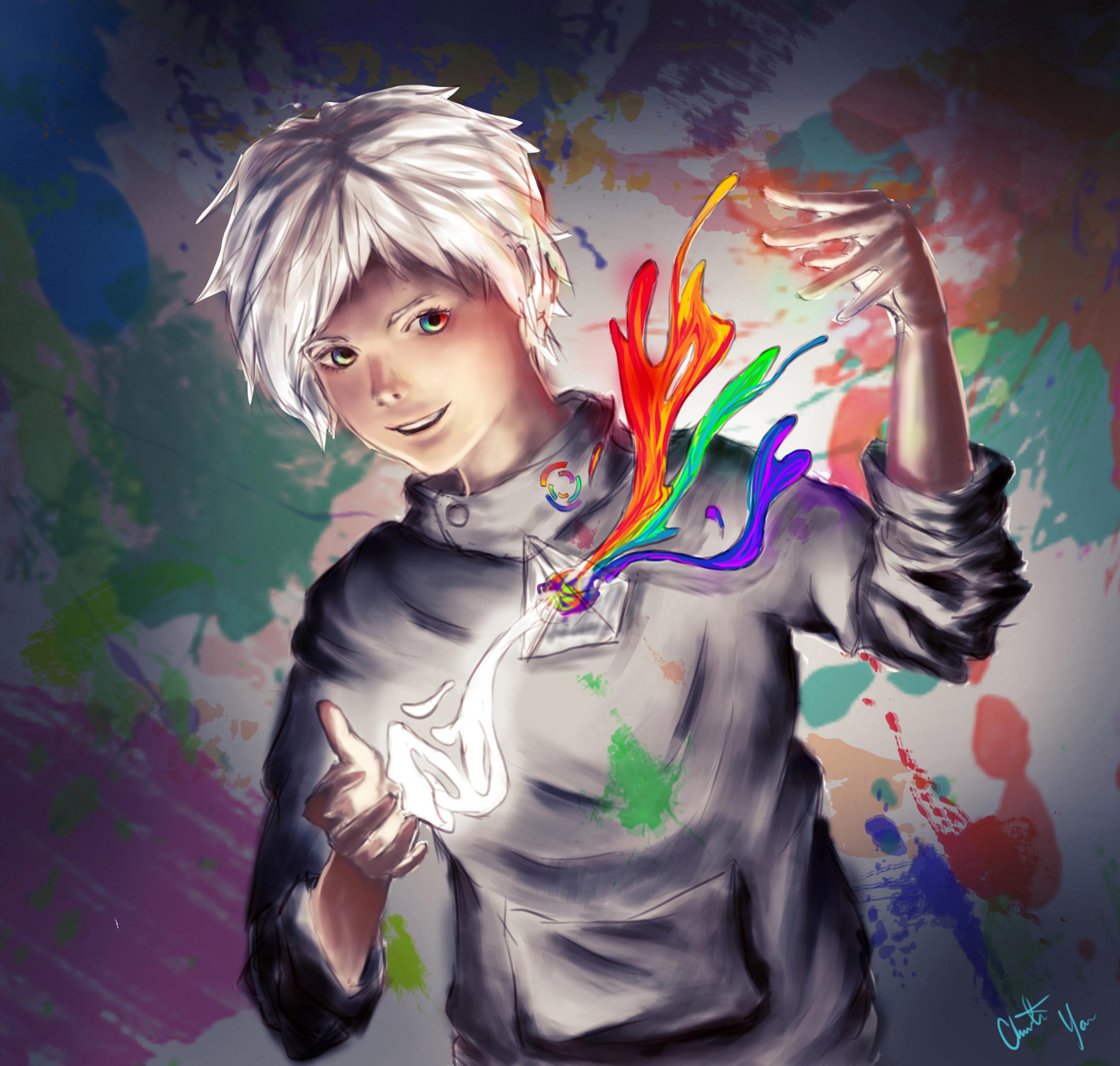 Master of Color (digital) - Christine Yao