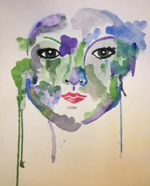 Watercolor Eyes (watercolor) - Lexi Taylor
