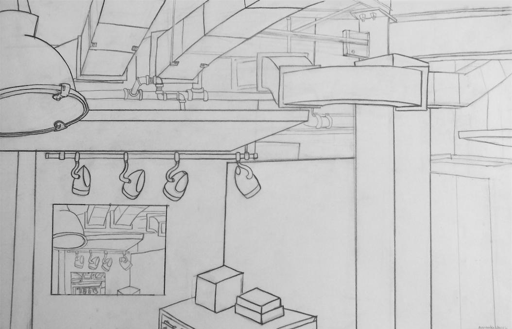 The Studio (ink) - Amanda Ugorji