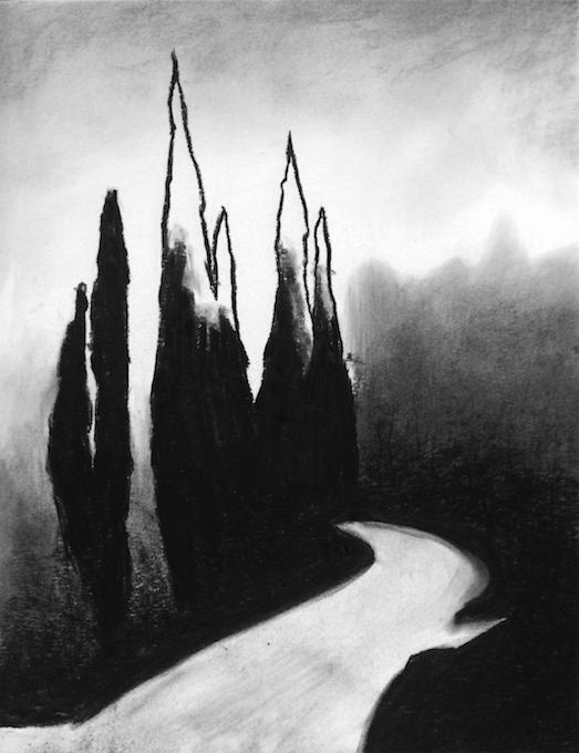 Deliberation (ink) - Laura Ancona