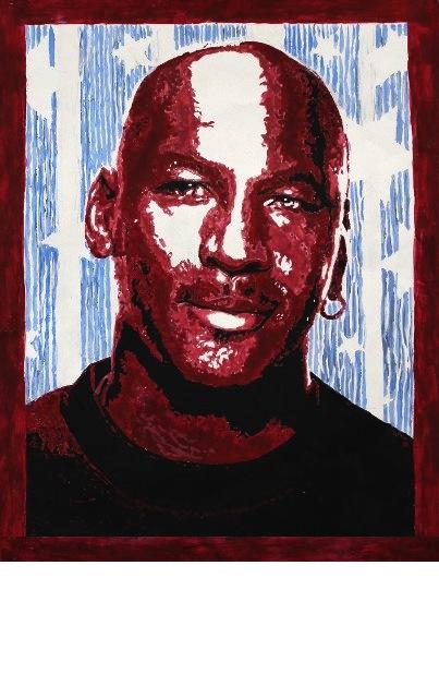 Michael Jordan (digital) - Angela Liu