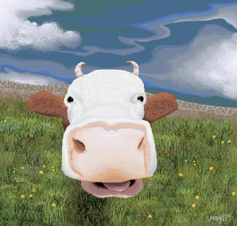 Cow! (digital) - Sandy Li