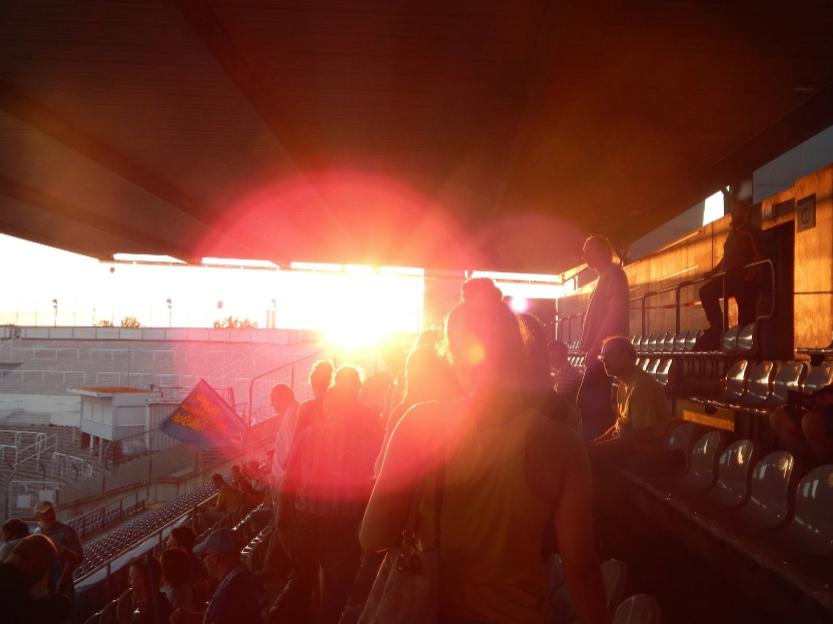 Sundown in the Stadium - Mary DeVellis