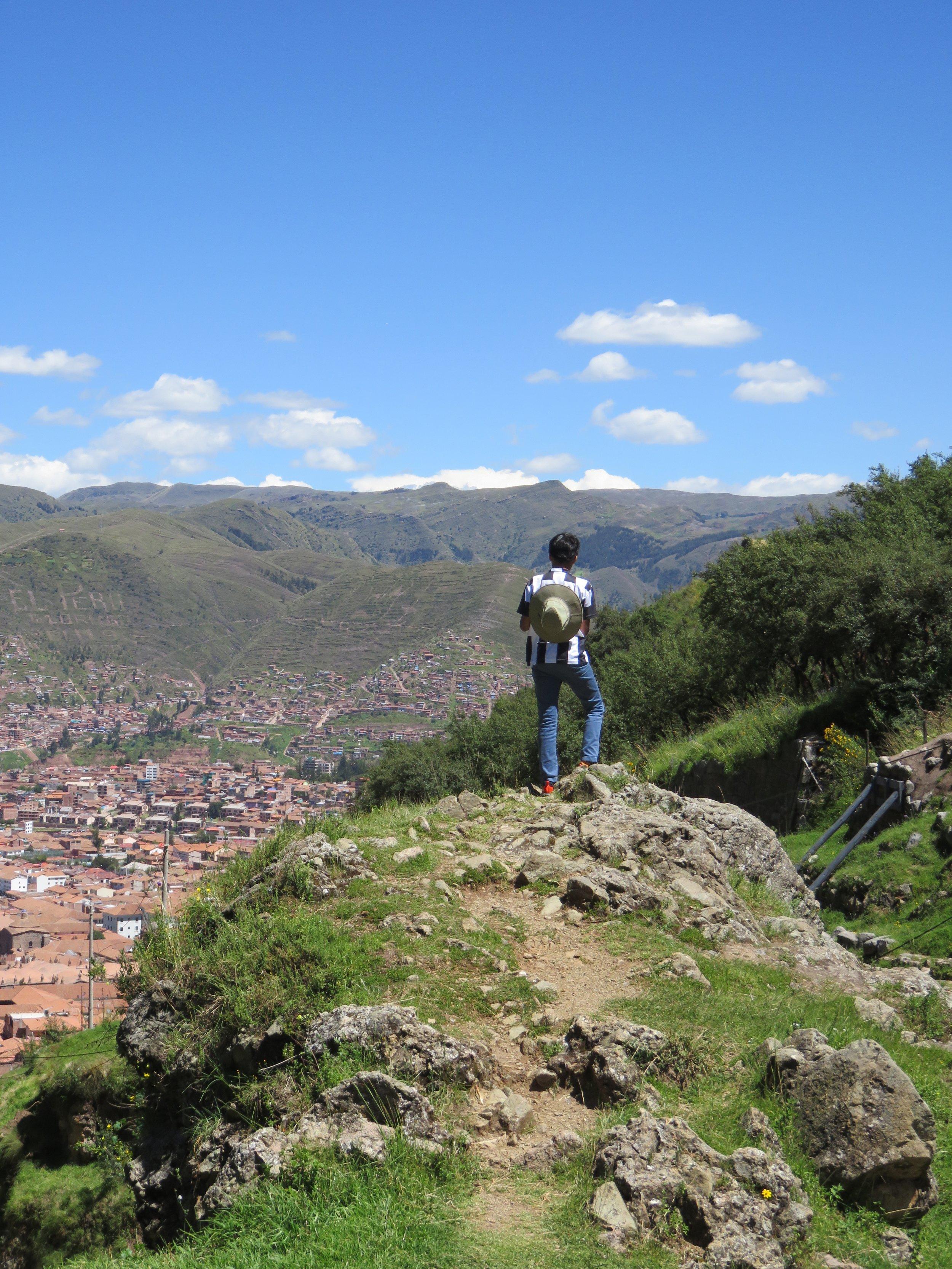 Cusco Desde Las Montañas - Samiha Datta