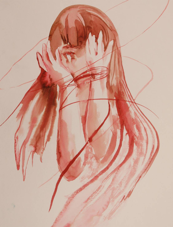 Coverage (watercolor) - Julie Peng