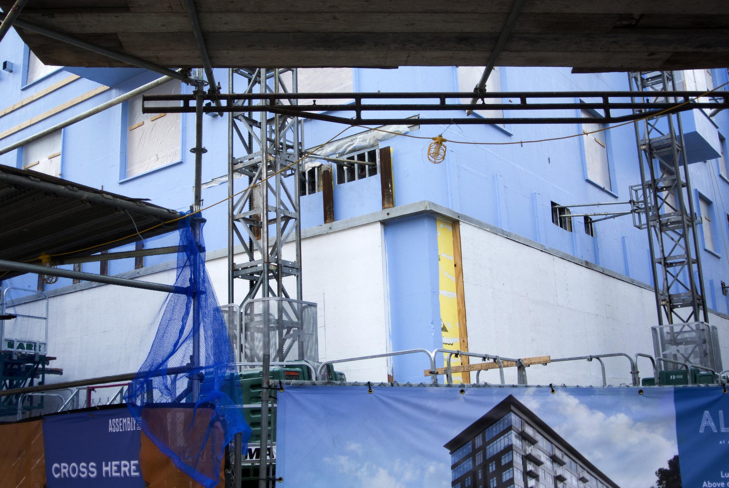 Blue Construction – Olivia Maduro