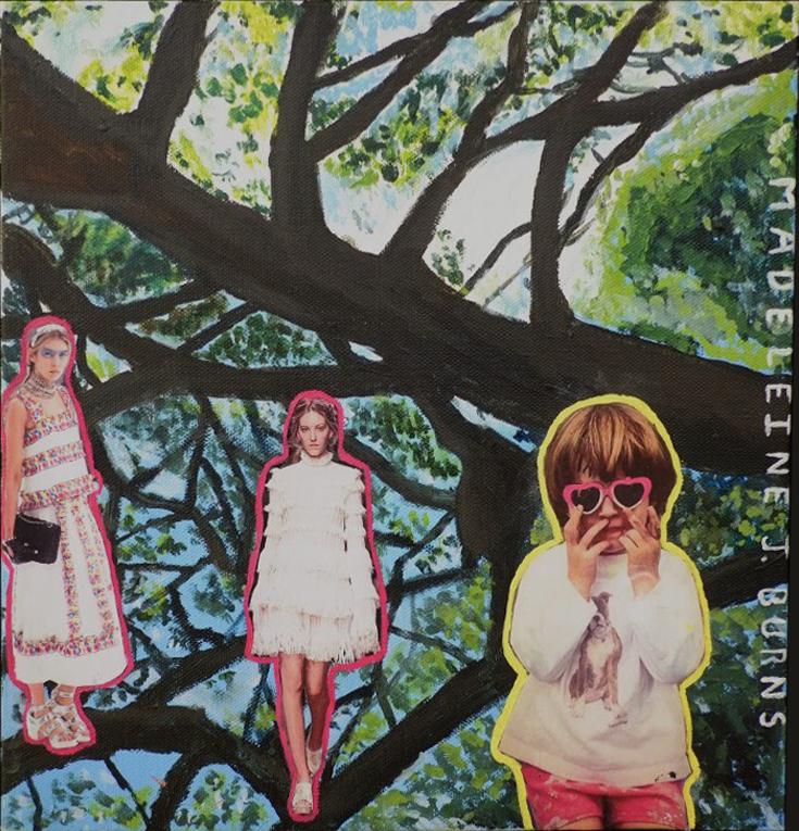 Untitled (acrylic) - Maddie Burns