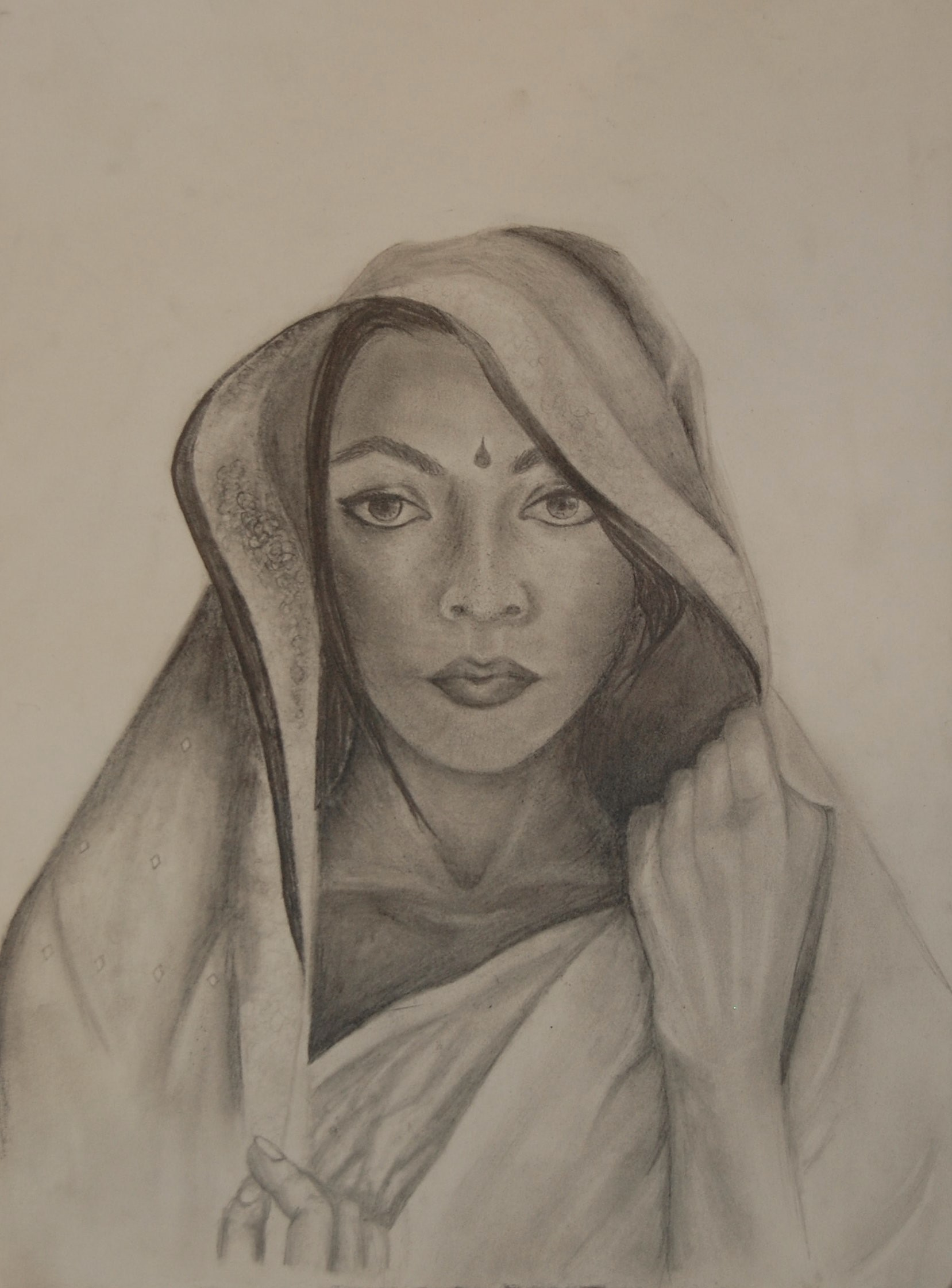 Women in Asia 2 (graphite) - Claire Zhang