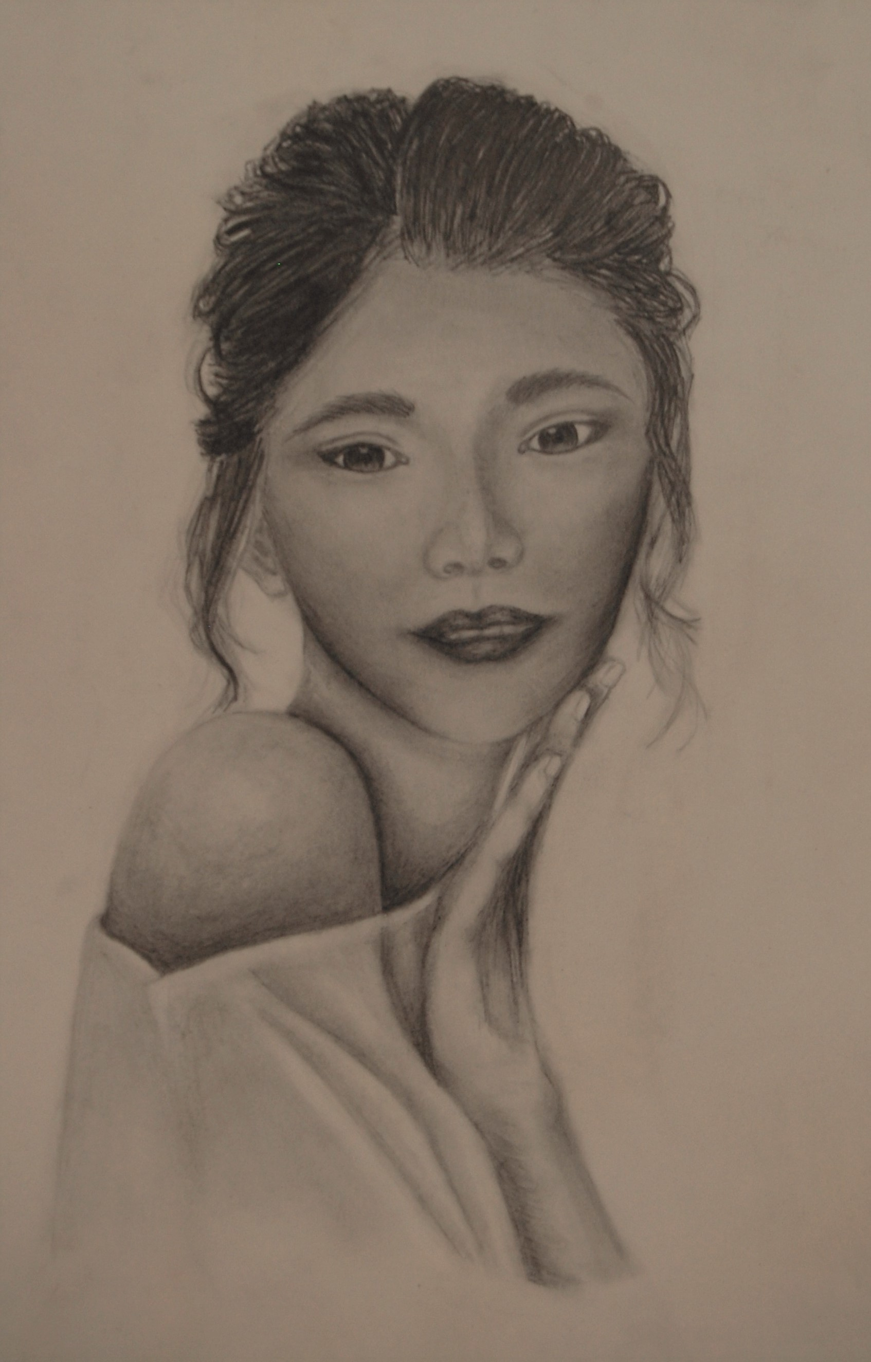 Women in Asia 1 (graphite) - Claire Zhang