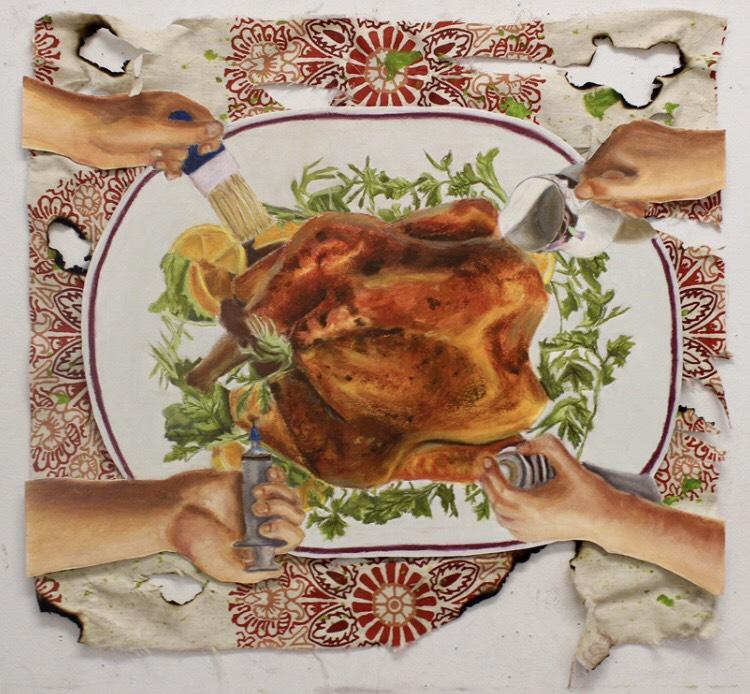 Modern Turkey (mixed media) - Justin Kim