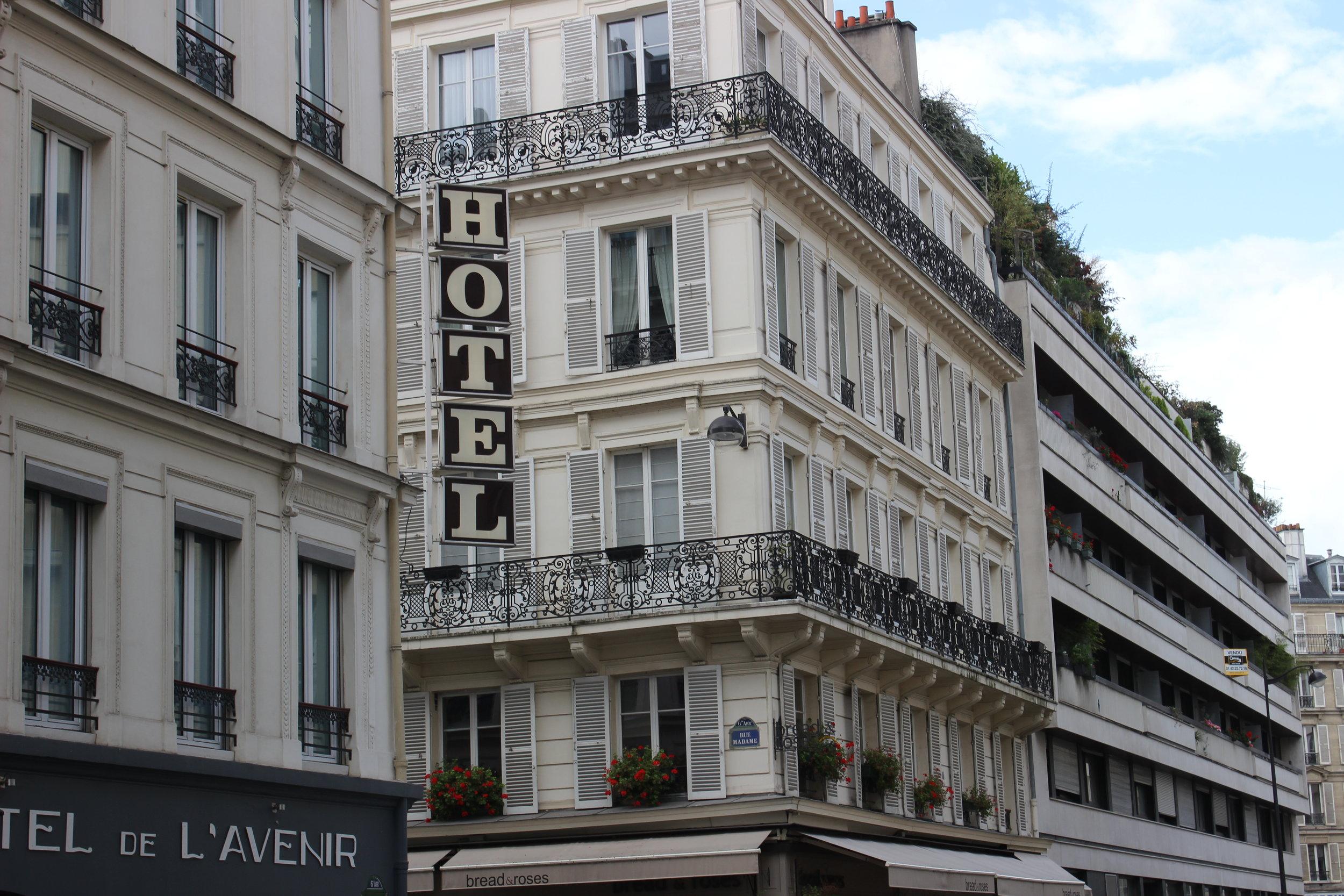 Paris Hotel - Chloe Fandetti