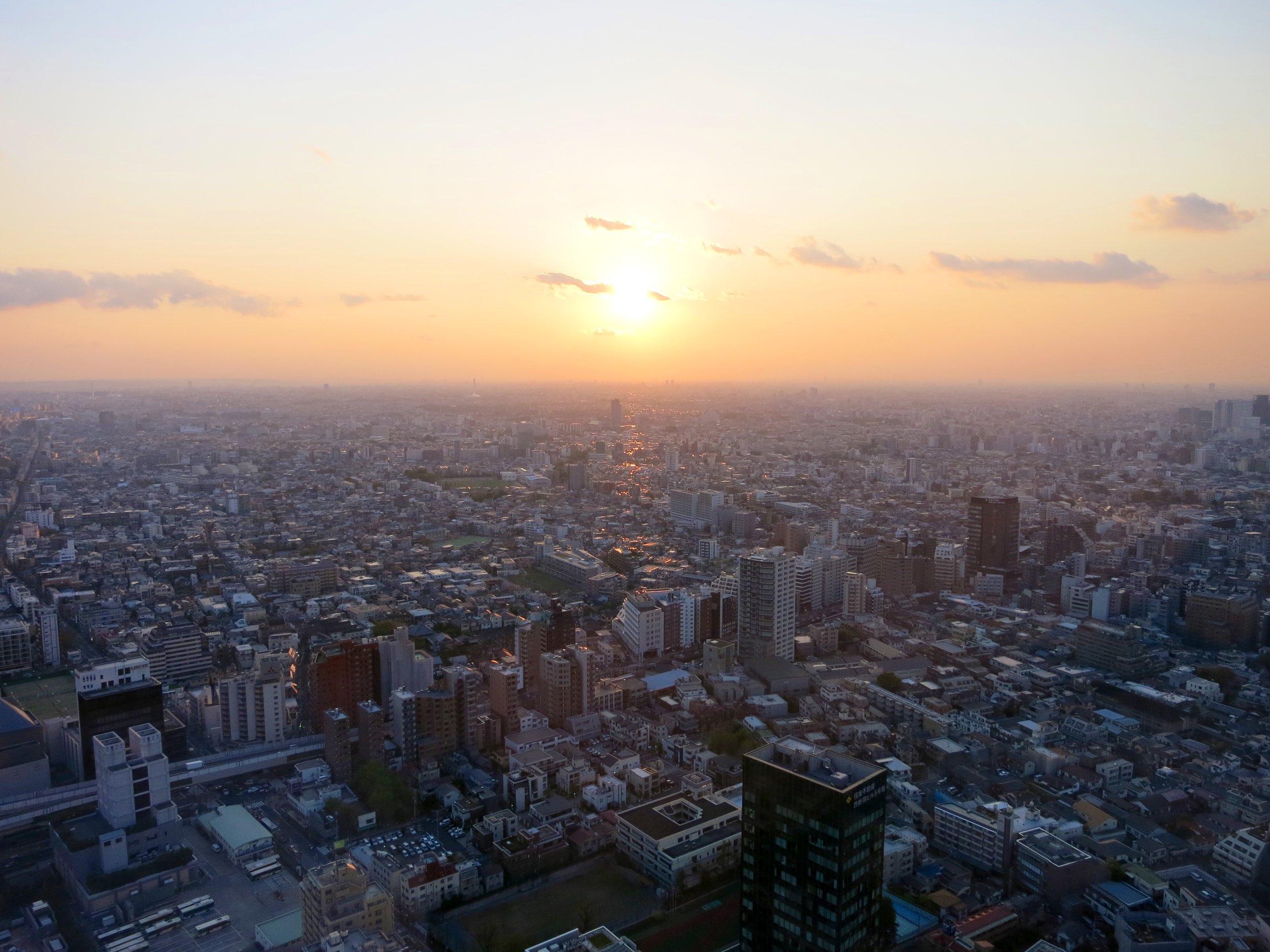 Tokyo Skyline - Chloe Fandetti
