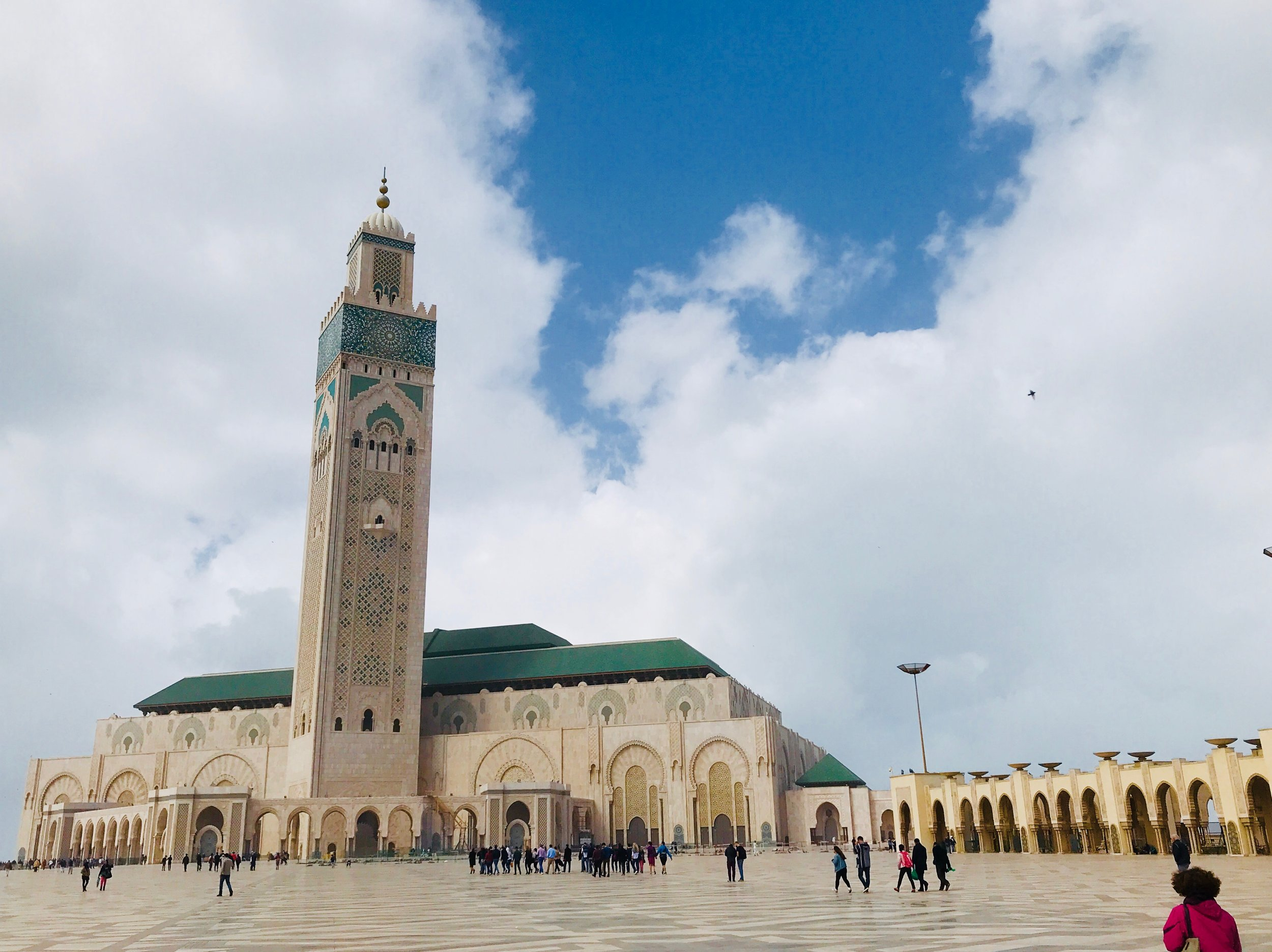 The Minaret of Casablanca - Lily Brown