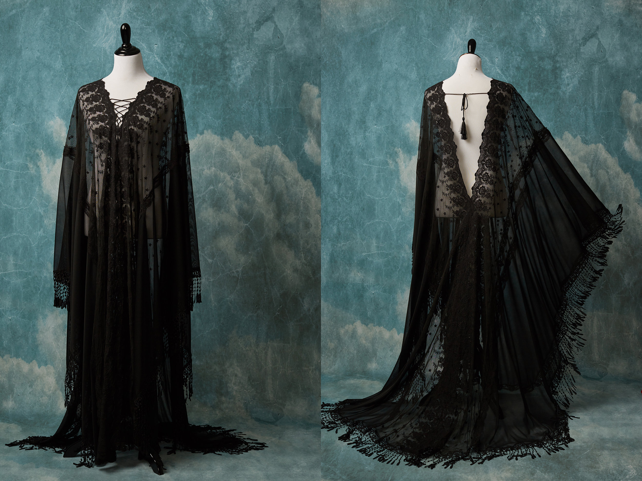 THE MARY CAFTAN Size: 0-10 Best for: Portraits, Boudoir, Maternity