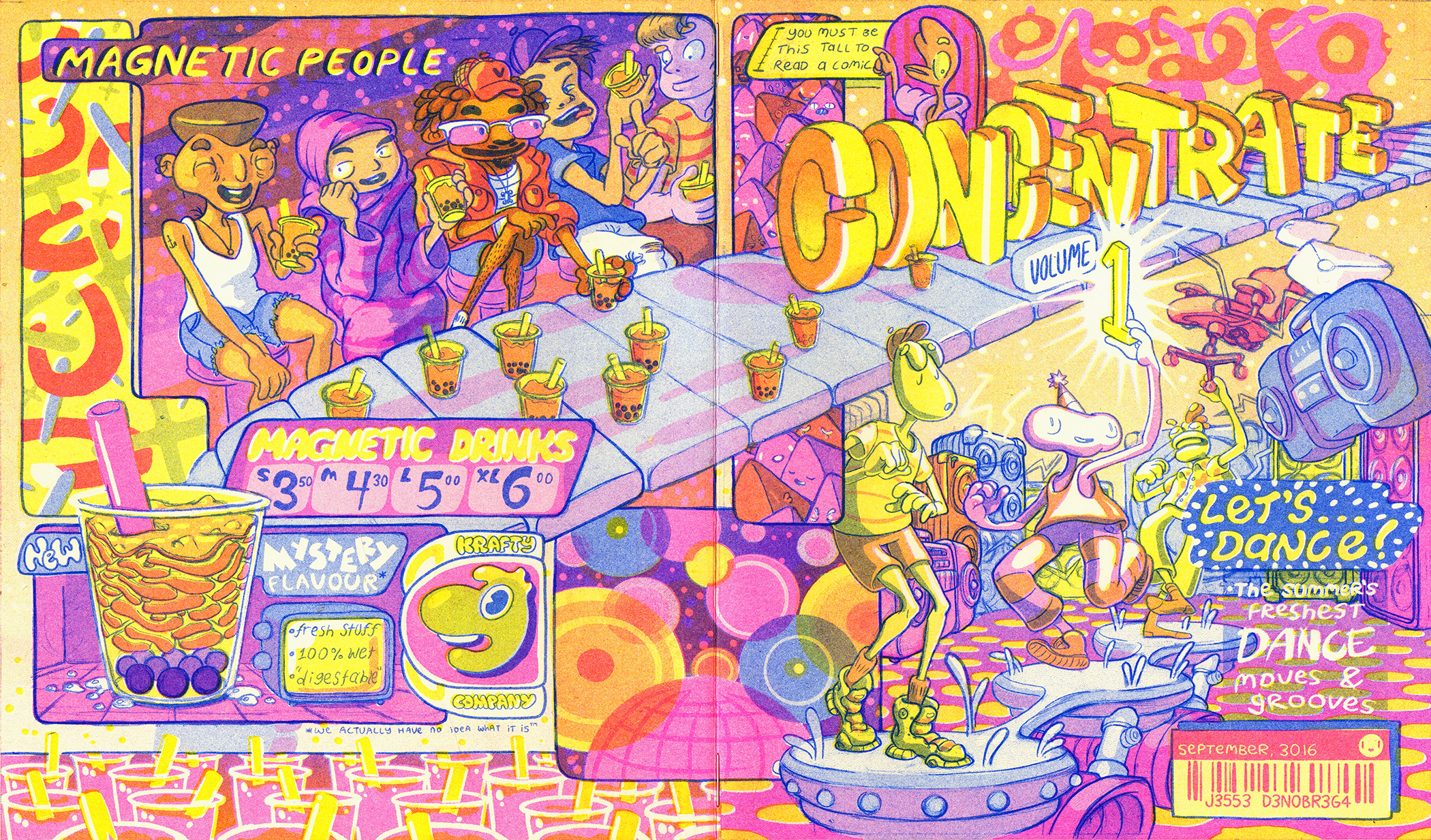 Concentrate Volume 1 - Wraparound Cover