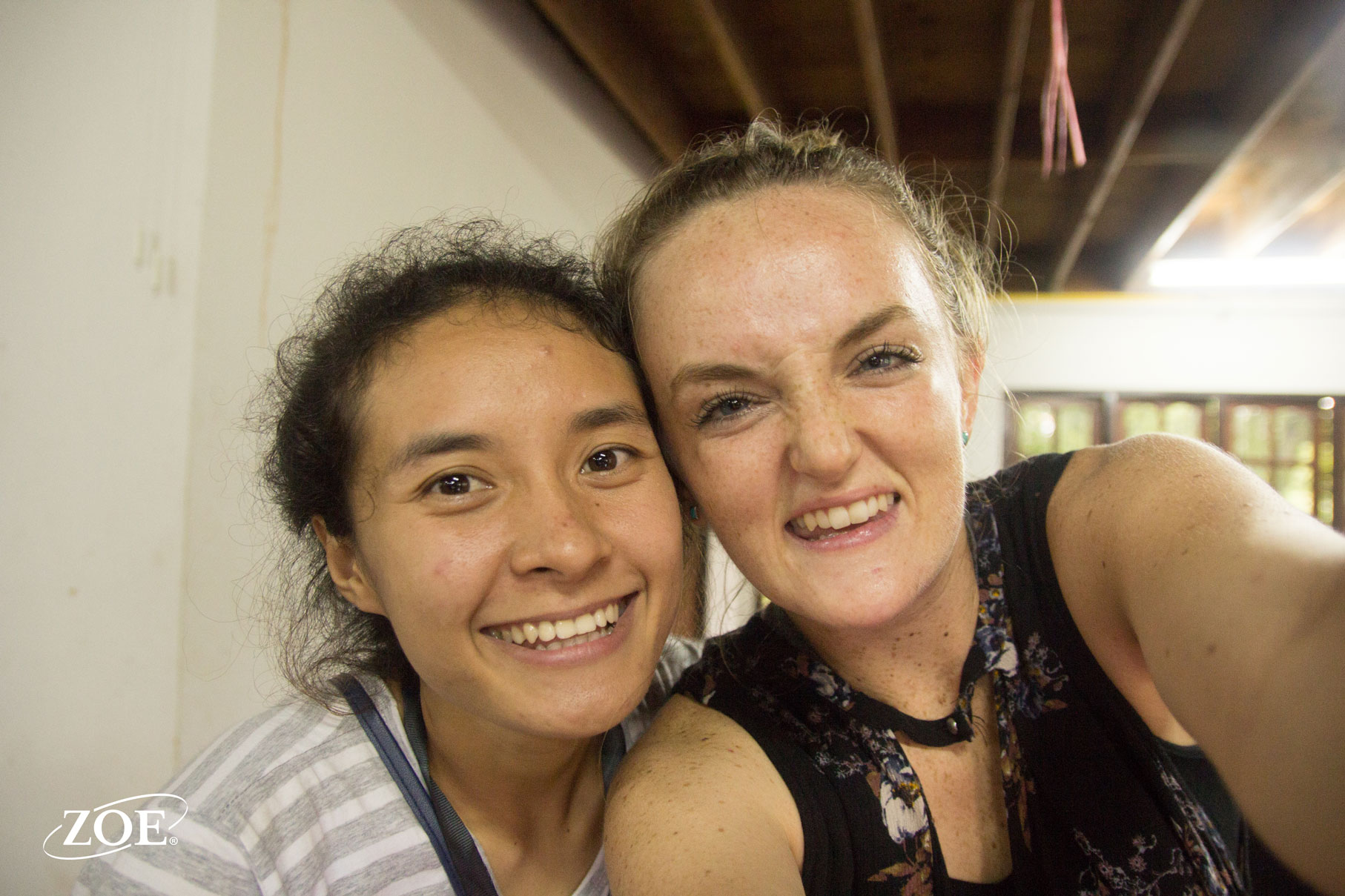 One of our Thai staff, Lek, and Abigail handled the SNACKS for youth camp. Lots of coordinating, laughter, and business.