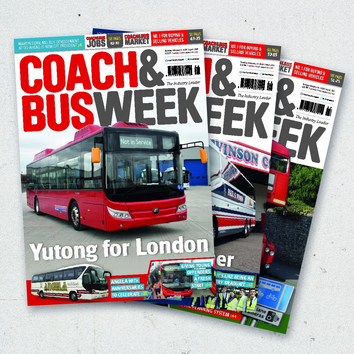 Coach & Bus Week Covers