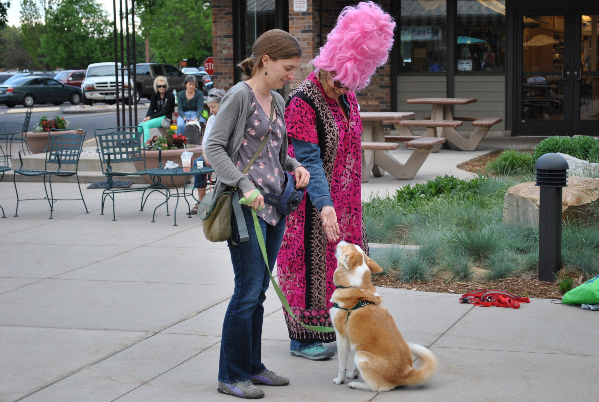 Dogs need to be socialized to all sorts of people.