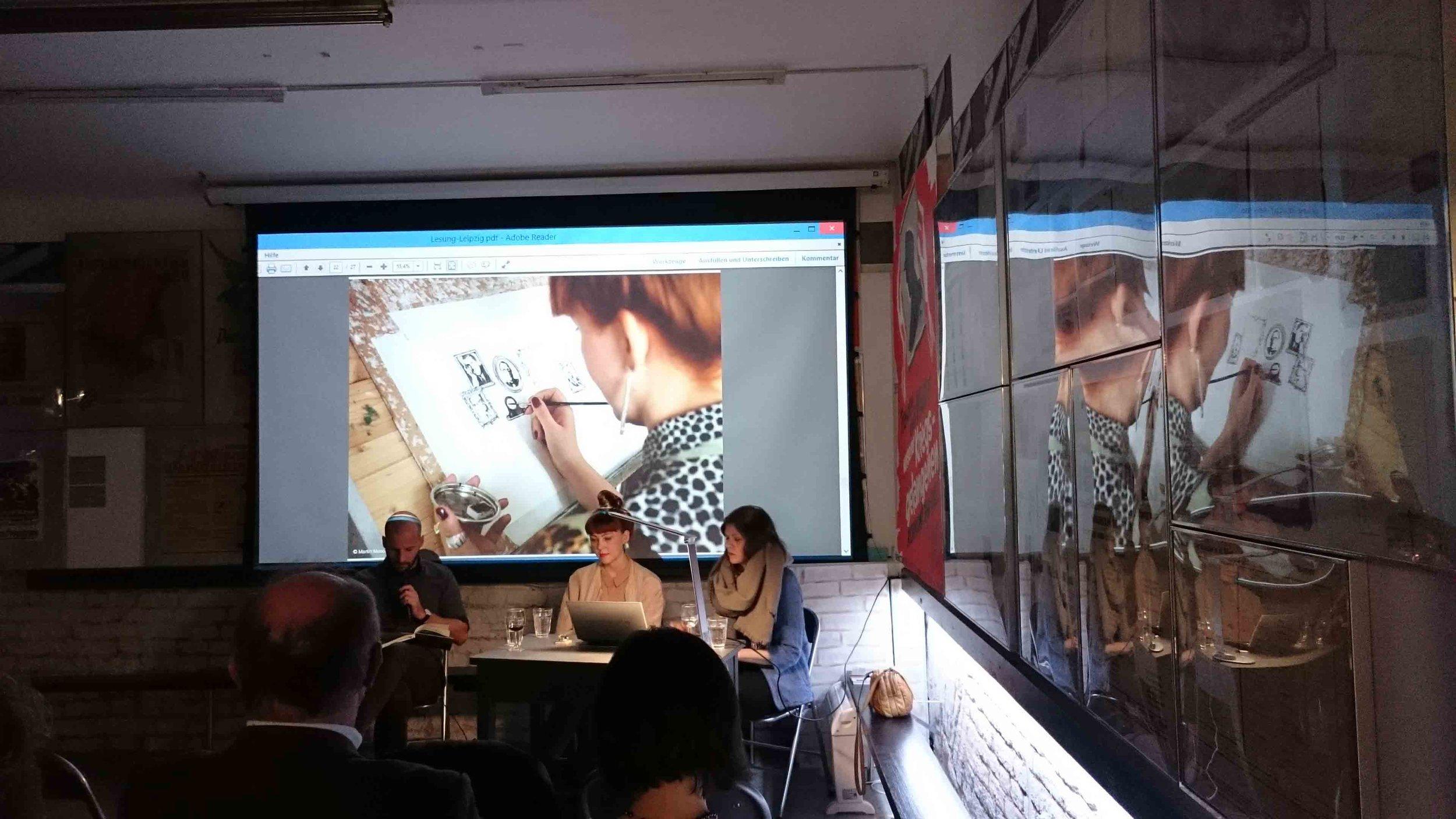 "Book-presentation and exhibition  ""Dritte Mann Museum""  Wien, 2016"