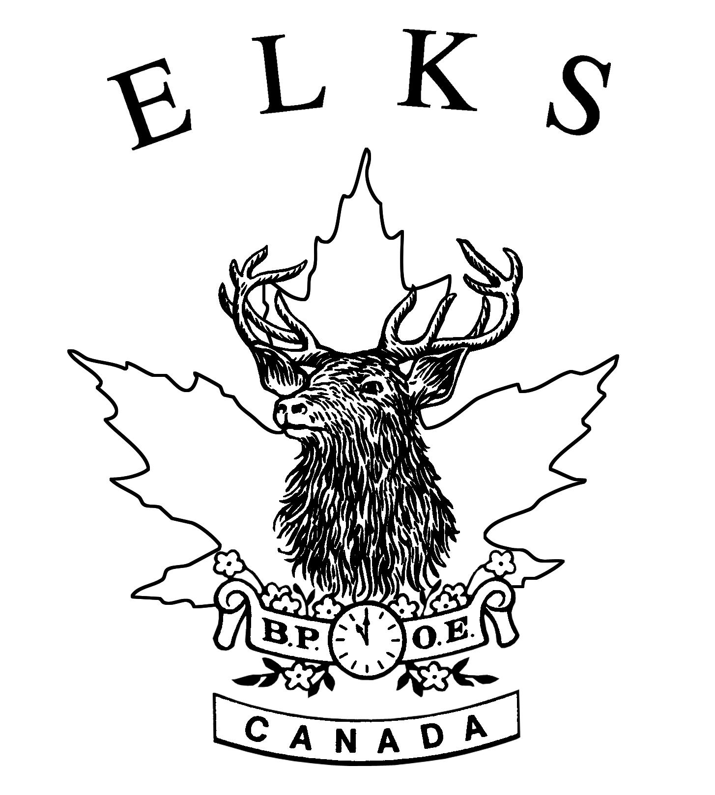 Elks-maple-leaf-bw.png
