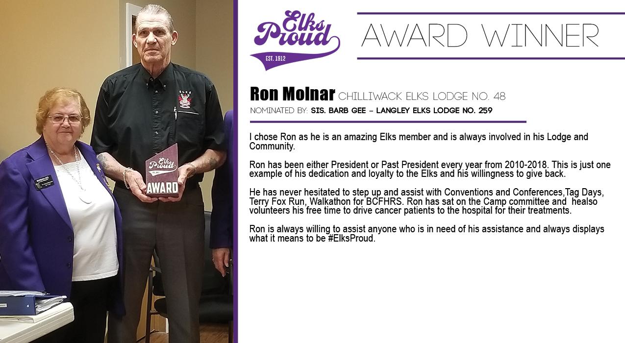 Ron Molnar