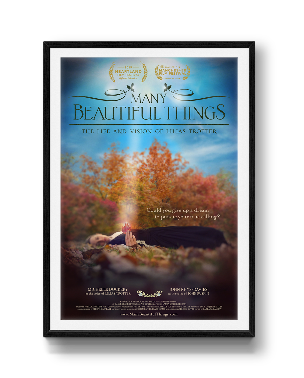 Official Movie Poster, Many Beautiful Things