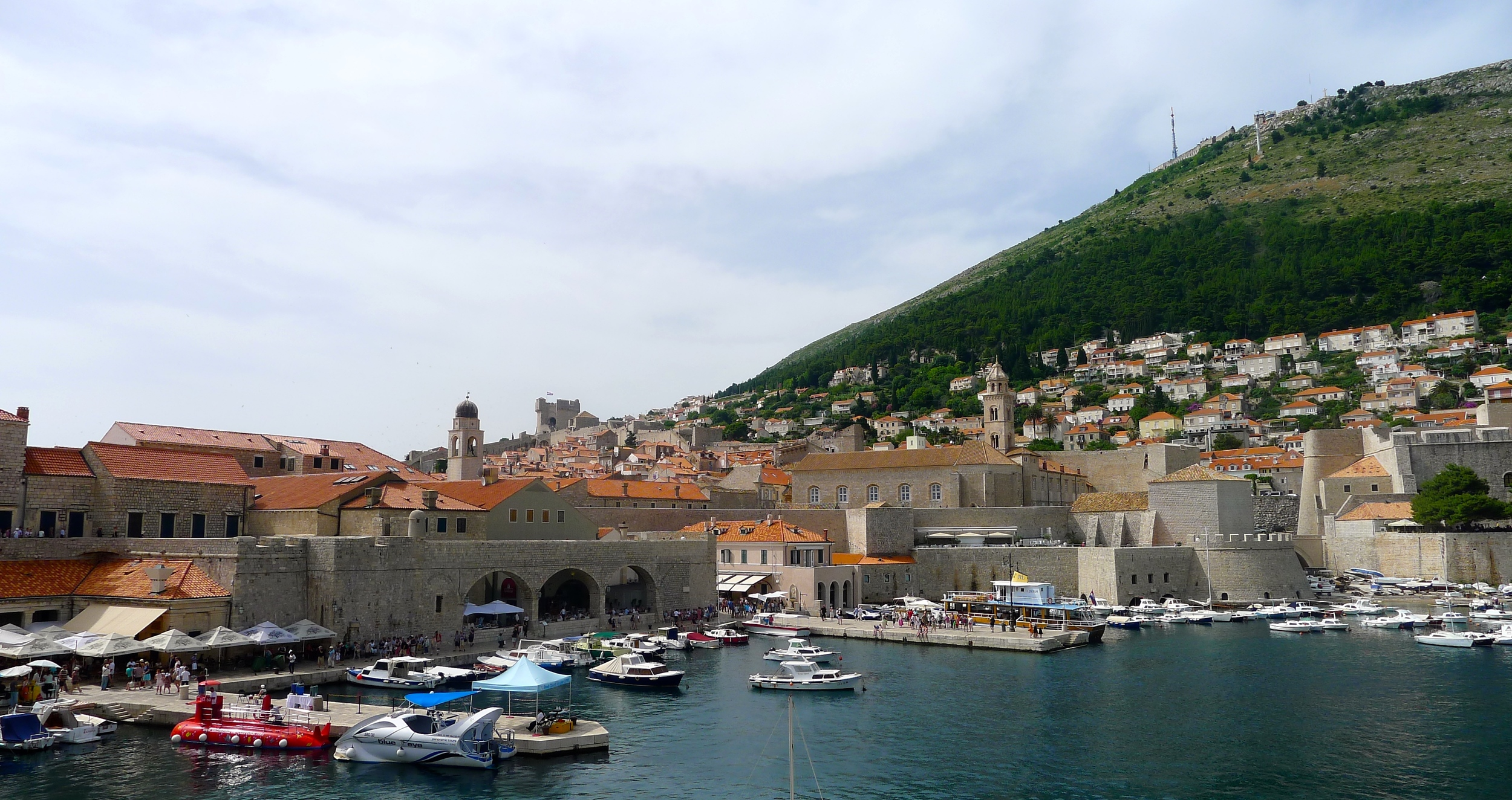 Dubrovnik Croatia Old City