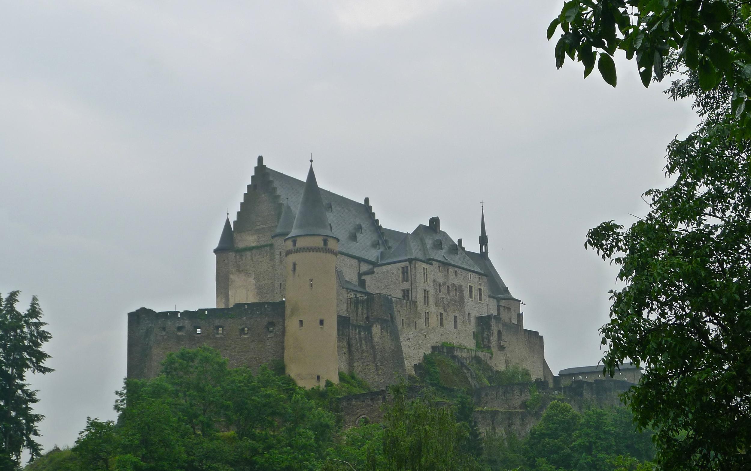 Chateau de Vianden, Luxembourg