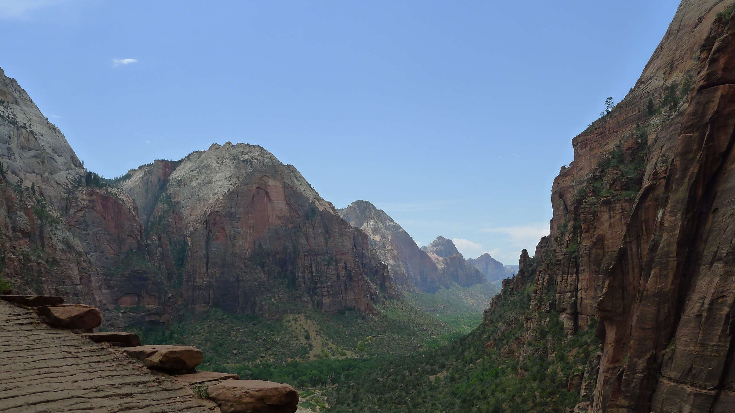 Angel's Landing Trail at Zion National Park