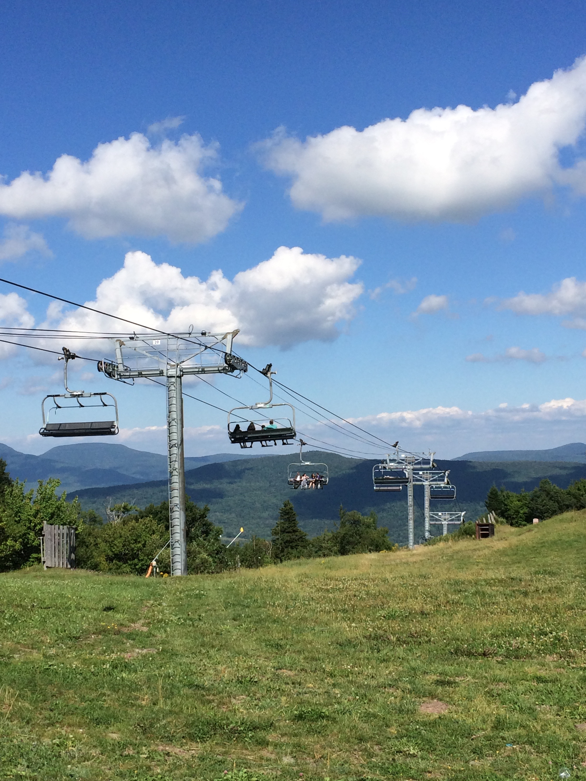 Summer at Hunter Mountain
