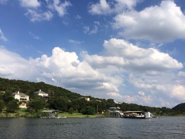 Lake Travis in Austin, Texas