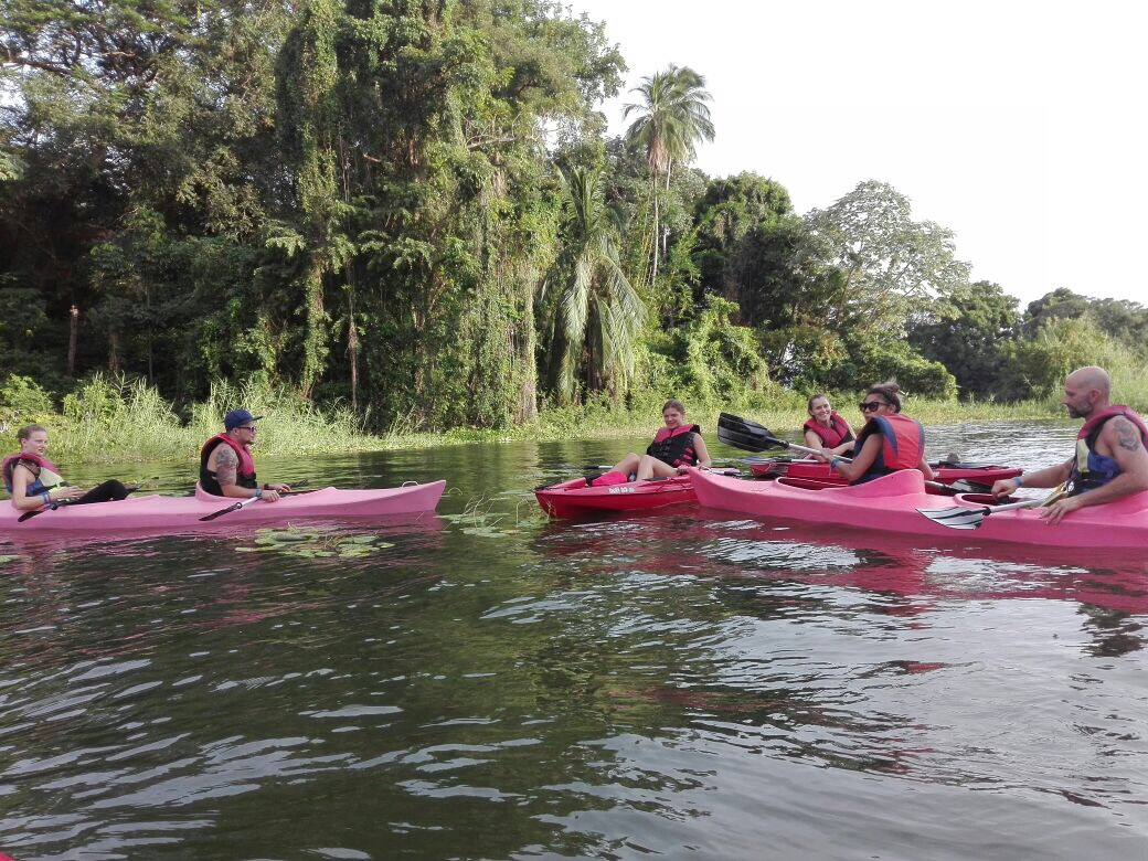 Kayaking the Isletas de Granada